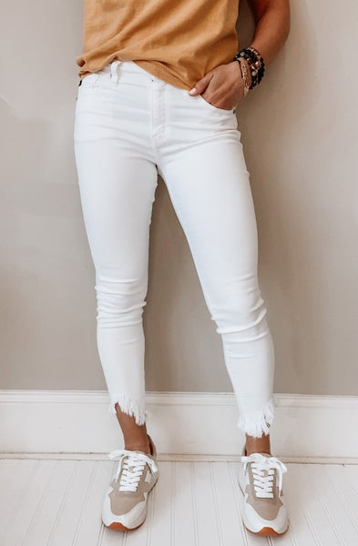 Fresh White Skinnies