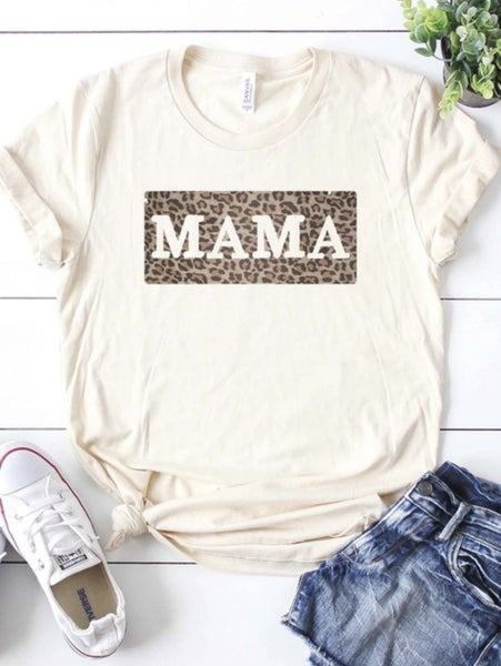 Leopard Mama Graphic Tee