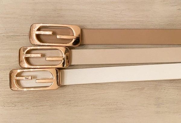 FF Designer Skinny Belt