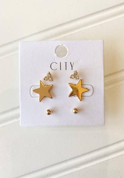 Star Studded Earrings