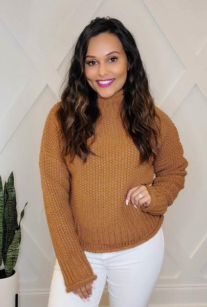 SALE / Cinnamon Spice Sweater