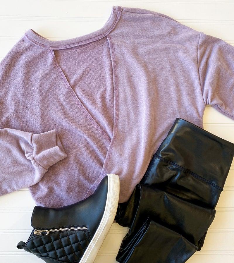 SALE / Violet Fields Sweater