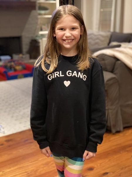 SALE / Girl Gang Kids Sweatshirt