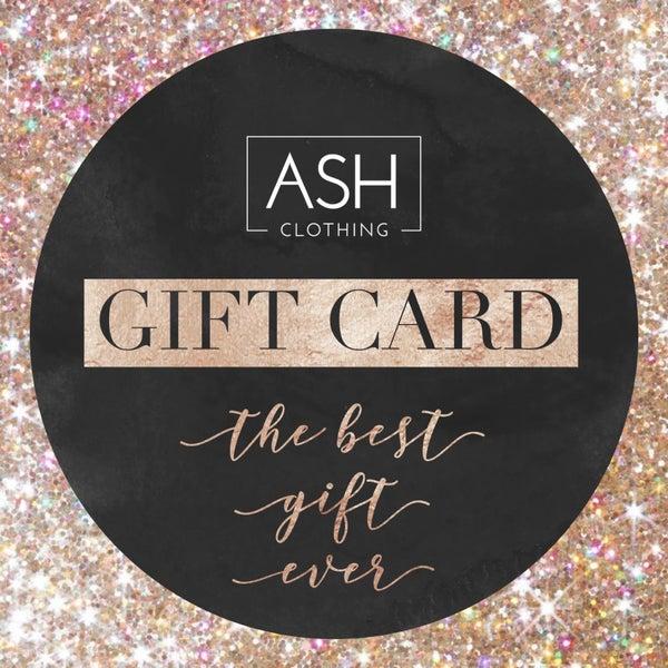 Ash Cash GIFT CARD