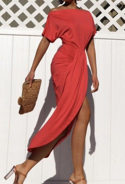 Venetian Ruched Dress