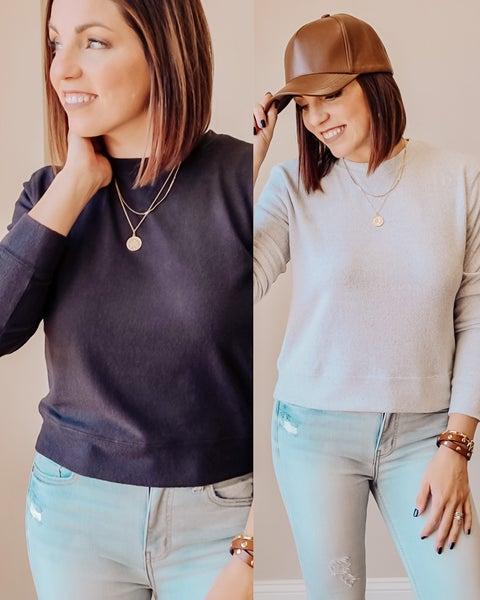 SALE / V-Stitch Sweatshirt
