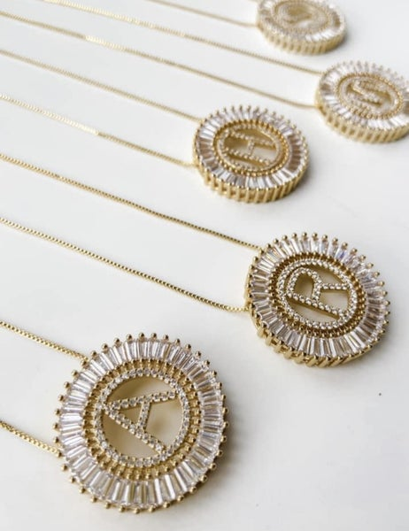 Initial Burst Necklace