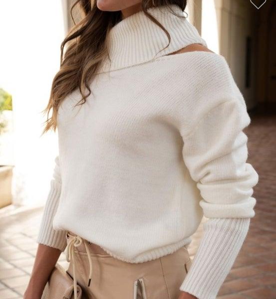 SALE / Venti Off Shoulder Sweater
