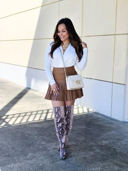 ASH BASH College Girl Skirt