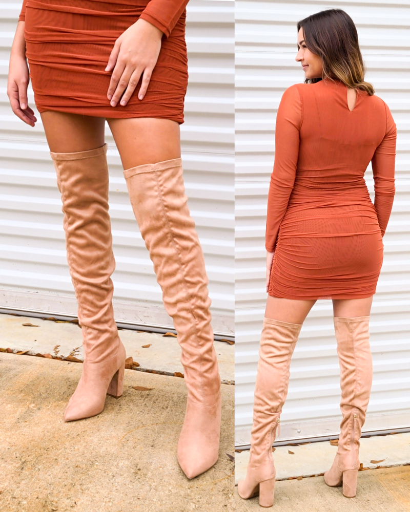SALE / Bella Over the Knee Boots