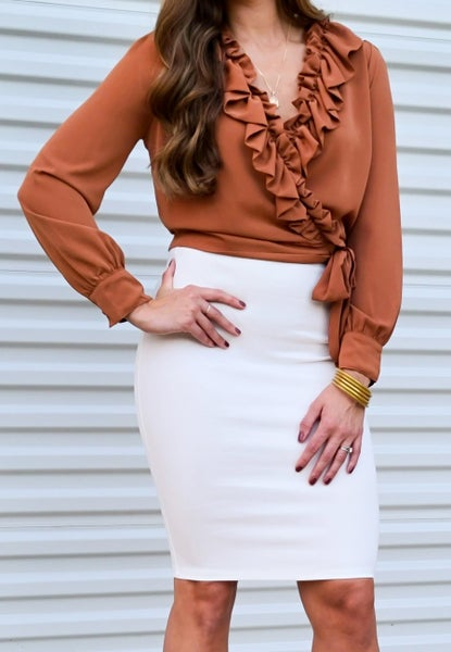 SALE / In The Season Pencil Skirt