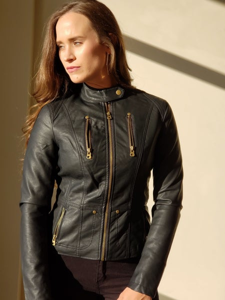 SALE / Hayden Leather Jacket