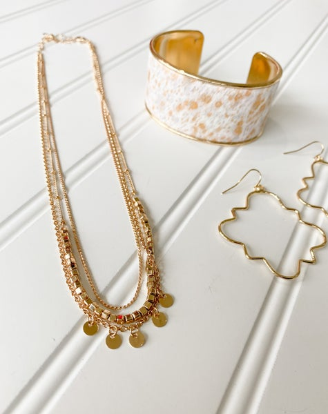 Short Layers Necklace