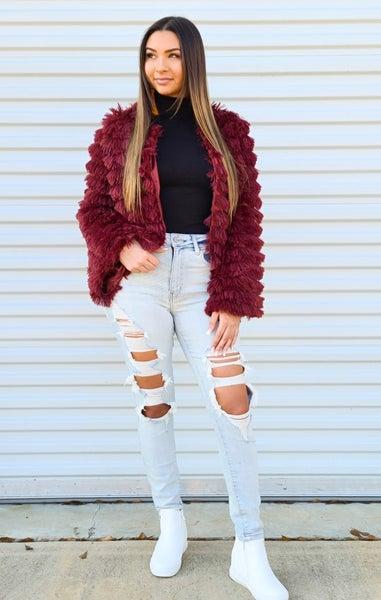 SALE / Fuzzy Dressy Jacket