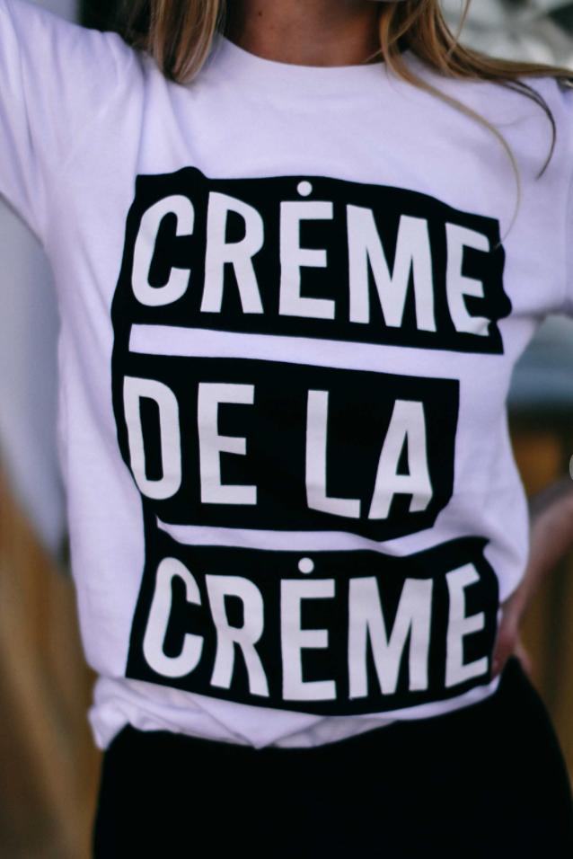 Creme De La Creme Graphic Tee