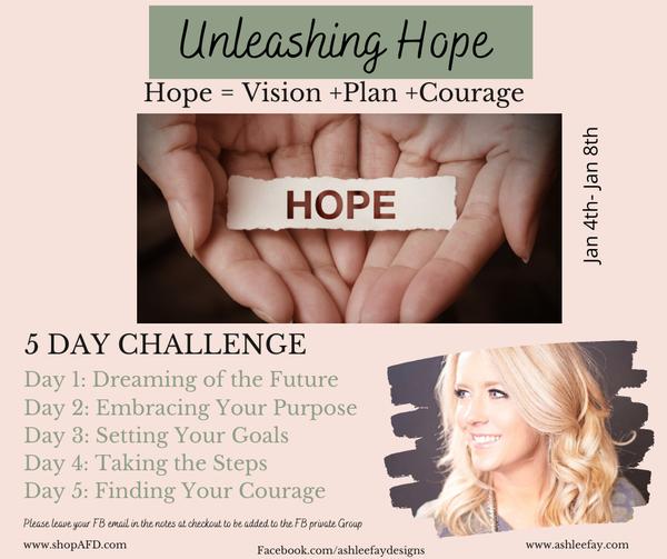 Unleashing Hope Challenge