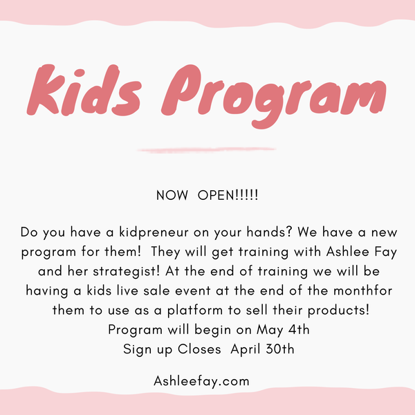Kidpreneur Program