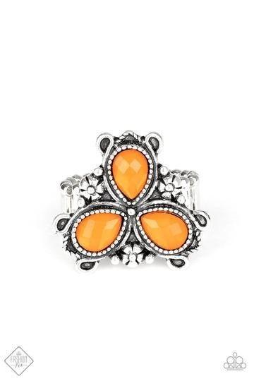 Ambrosial Garden - Orange (June 2020 Fashion Fix)