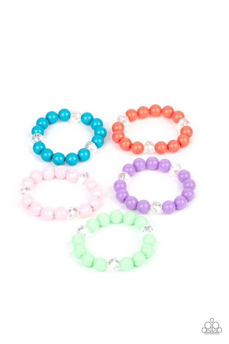 Starlet Shimmer Bracelet Kit - Crystal-like Accents