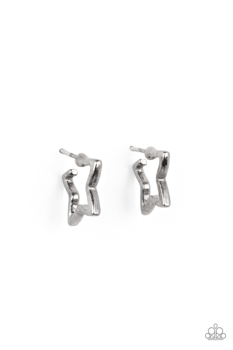 Starlet Shimmer Earring Kit - Star Hoops