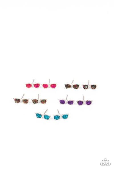 Starlet Shimmer Earring Kit - Sparkly Sunglasses