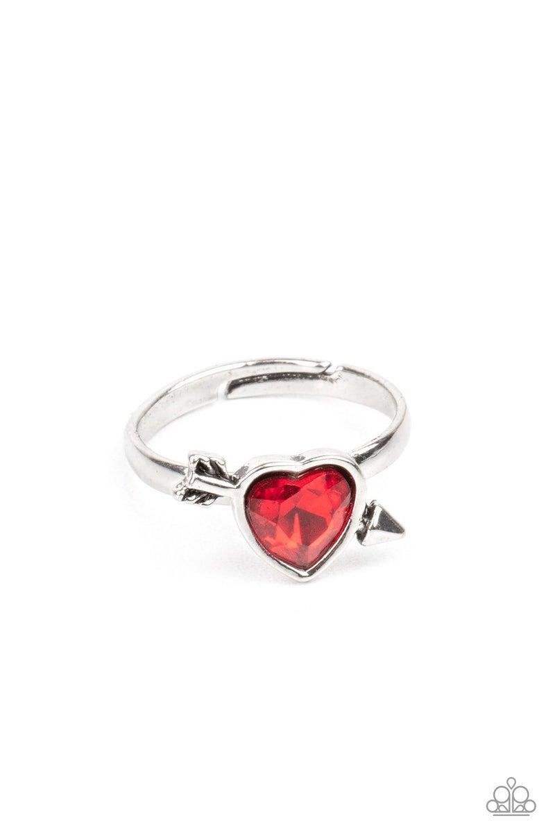 Starlet Shimmer Ring Kit - Heart Shapes, KISS