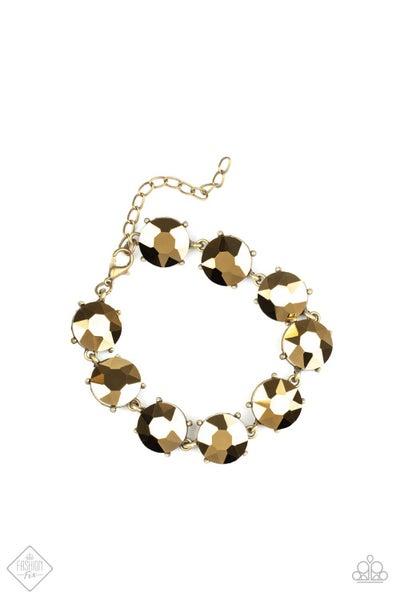 Fabulously Flashy - Brass (August Fashion Fix)