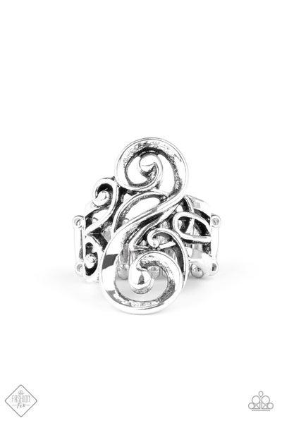 Musical Motif - Silver