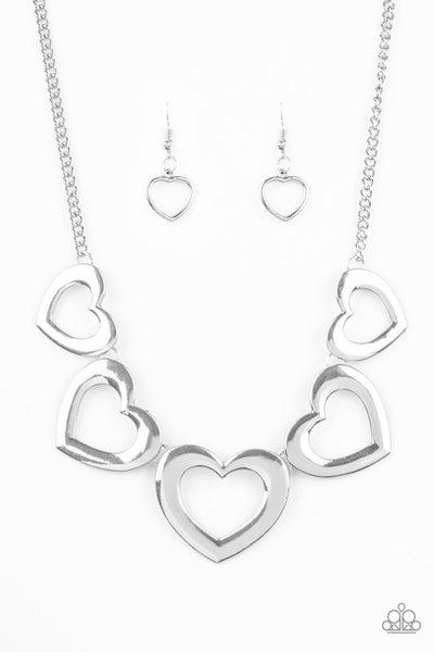 Hearty Hearts - Silver