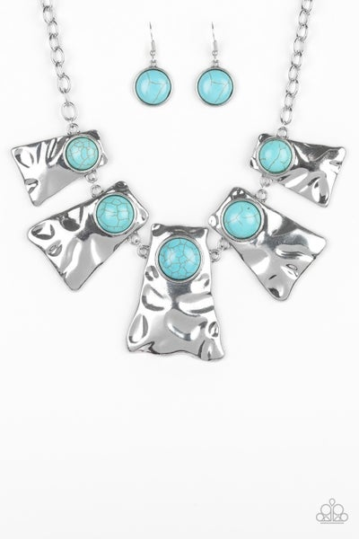Cougar - Silver & Turquoise