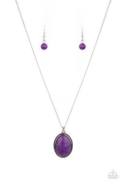 Tranquil Talisman - Purple