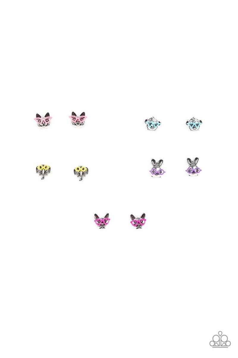 Starlet Shimmer Earring Kit - Animal Sunglasses