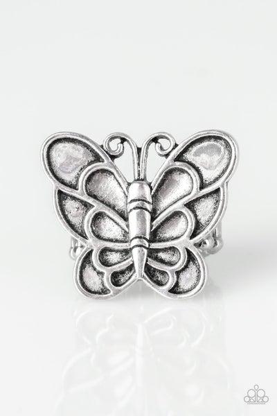 Sky High Butterfly - Silver