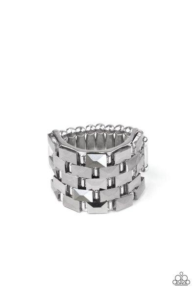 Checkered Couture - Silver