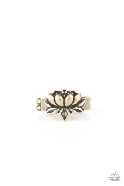 Lotus Crowns - Brass