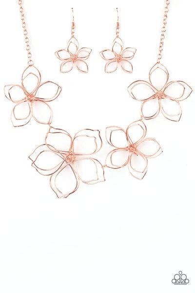 Flower Garden Fashionista - Copper