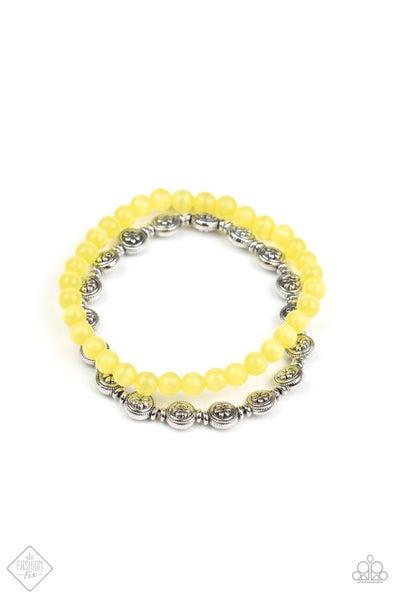 Dewy Dandelions - Yellow
