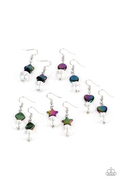 Starlet Shimmer Earring Kit - Iridescent Shapes