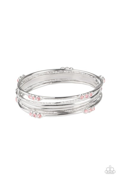 Stackable Sparkle - Pink