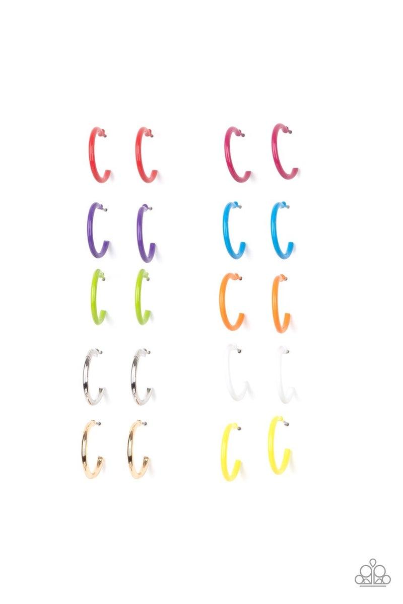 Starlet Shimmer Earring Kit - Colorful Hoops