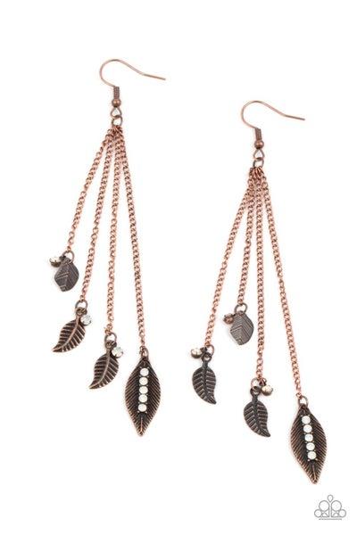 Chiming Leaflets - Copper