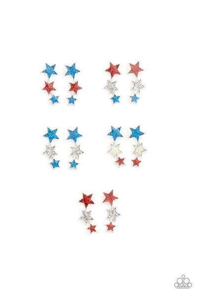Starlet Shimmer Earring Kit - Freedom Stars