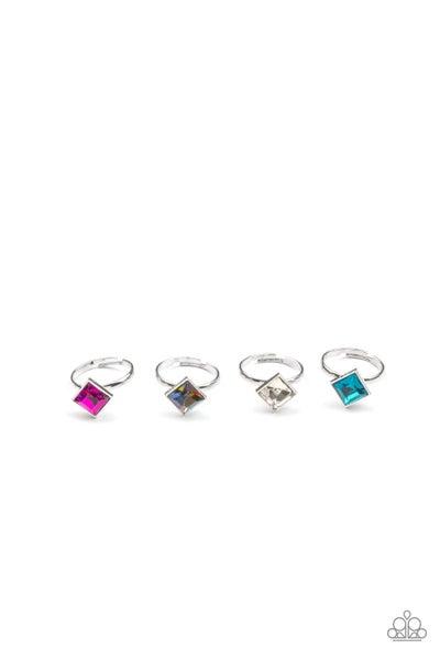 Starlet Shimmer Ring Kit - Square Cut Rhinestone