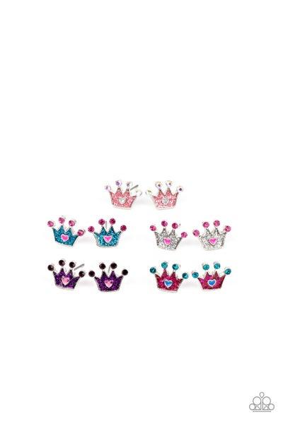 Starlet Shimmer Earring Kit - Crowns