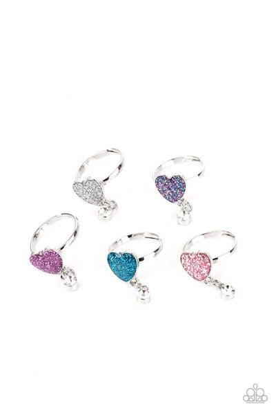 Starlet Shimmer Ring Kit - Heart w/Rhinestone