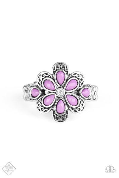 Fruity Florals - Purple  (July 2020 Fashion Fix)