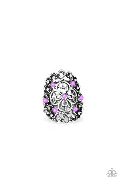 Floral Fancies - Purple