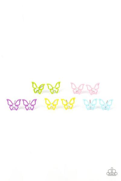 Starlet Shimmer Earring Kit - Colorful Butterfly Frames