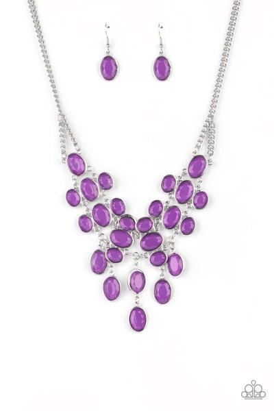 Serene Gleam - Purple