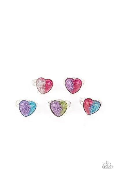 Starlet Shimmer Ring Kit - Split Hearts